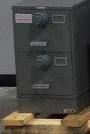 NSN#7110-01-563-1685, Class 6 (2) drawer, Letter Size, Multi Lock, Gray, X10 Lock