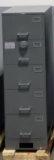 NSN#7110-01-606-5833, Class 6S SHIPBOARD (5) drawer, Legal Size, Single Lock, Gray, X10 Lock