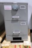 NSN#7110-01-606-5837, Class 6S SHIPBOARD (2) drawer, Letter Size, Single Lock, Gray, X10 Lock