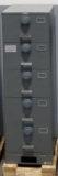 NSN#7110-01-614-5360, Class 6S SHIPBOARD (5) drawer, Legal Size, Multi Lock, Gray, X10 Lock